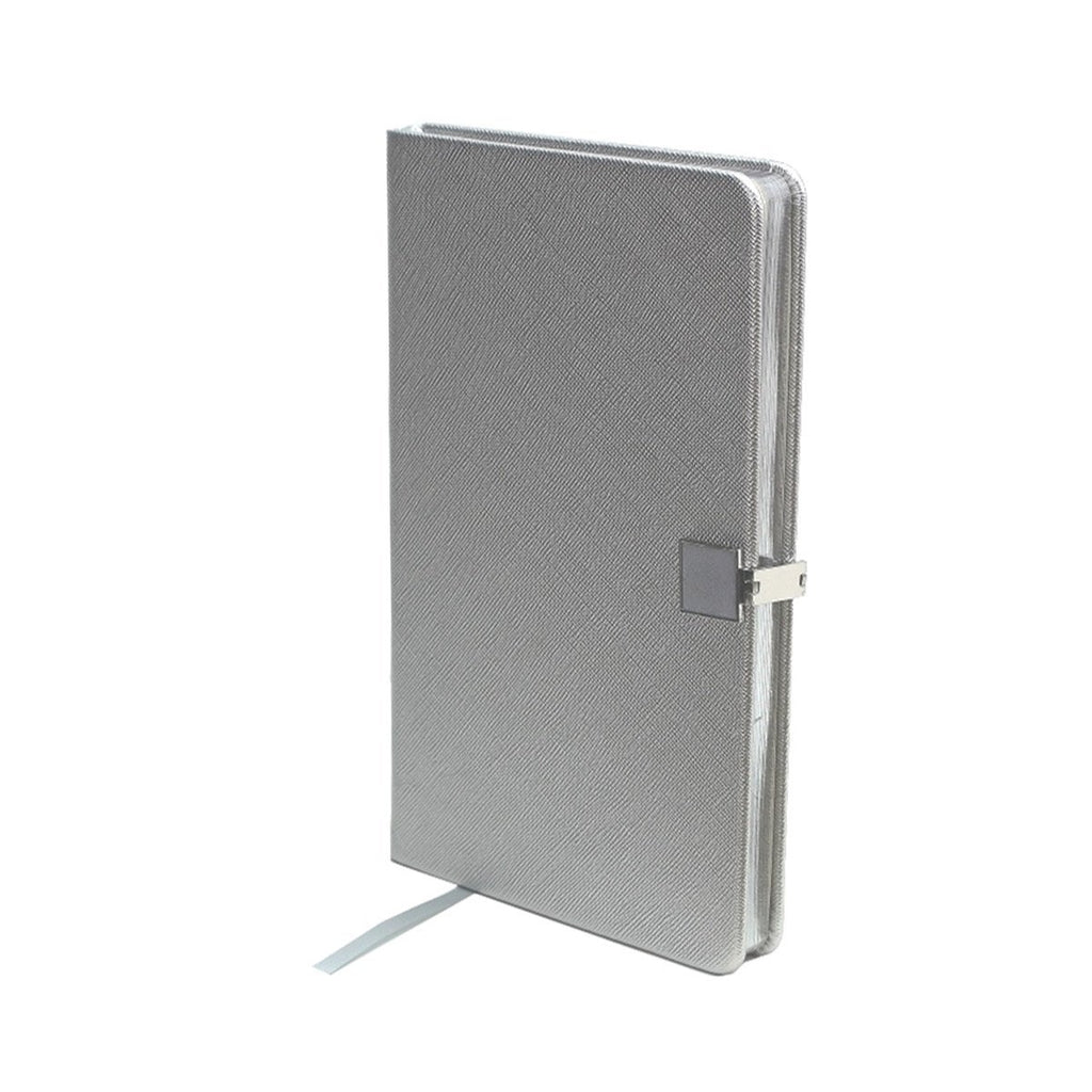 Silver & Silver A5 Notebook - Addison Ross Ltd UK