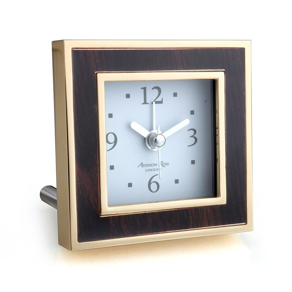 Toscana Midnight Square Alarm Clock - Addison Ross Ltd UK
