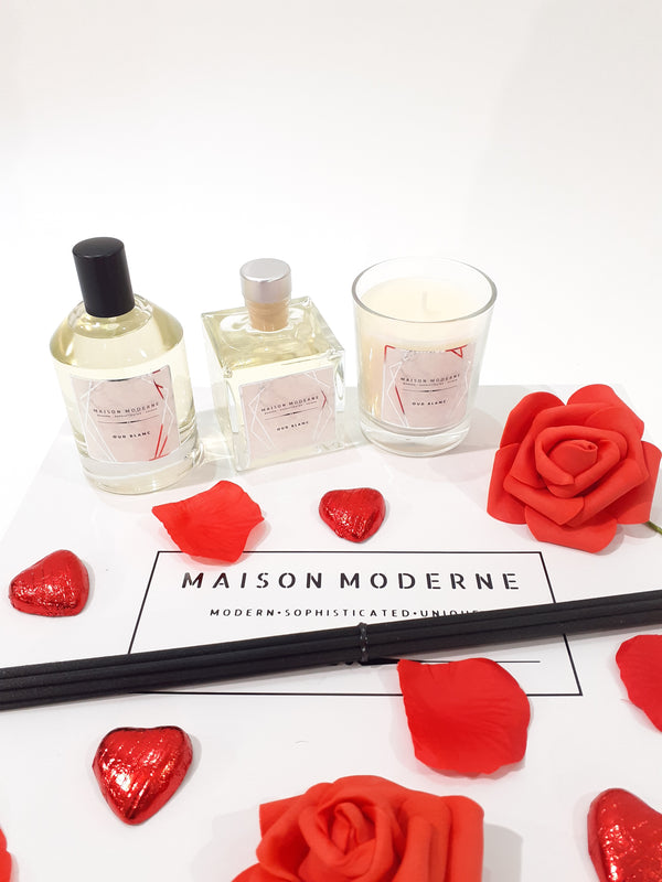 VALENTINES SPECIAL Large Gift Set - Oud Blanc