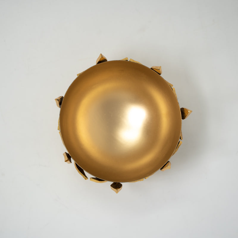 Gold and Black decorative bowl