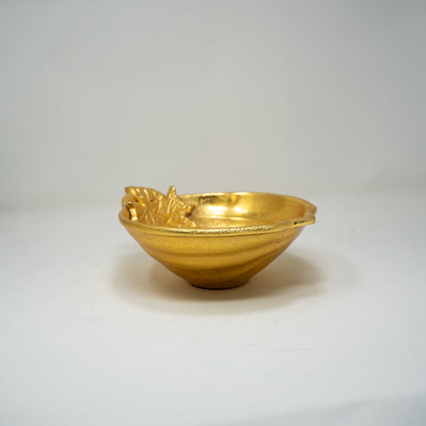 Gold Decorative Bowl.