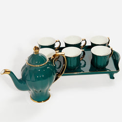 Coffee Cup Set - Green