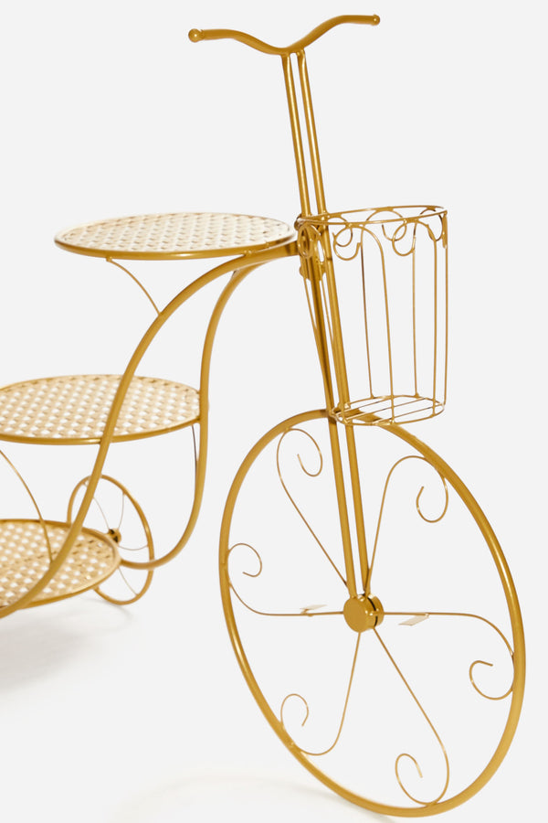 Dessert Cake Stand - Small Gold