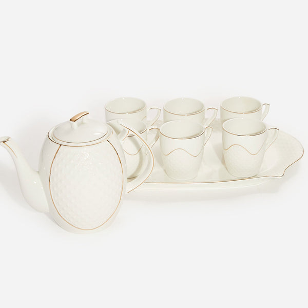 Coffee Cup Set - White 1