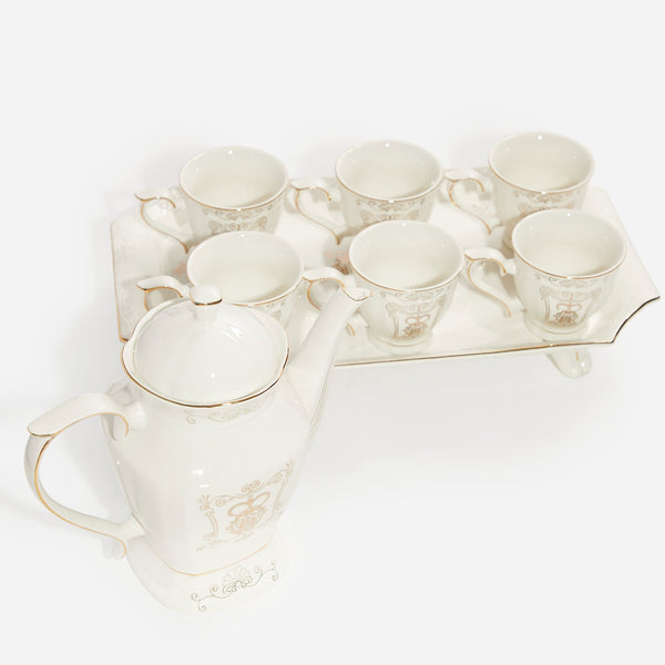 Coffee Cup Set - White 3