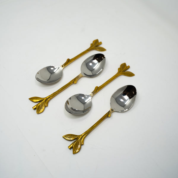 Gold Serving Spoons