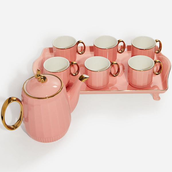 Coffee Cup Set - Pink
