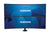 1x2 Bolt Down Desktop Mount for 43' & 49' Samsung Super Ultra-Wide Curved Monitors - Peerless-AV
