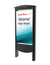 Outdoor Smart City Kiosks with 49' or 55'  XtremeTM High Bright Outdoor Display - Peerless-AV