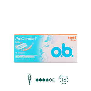 o.b. - Super Tampons - No Applicator - Aura - Period Subscription Box