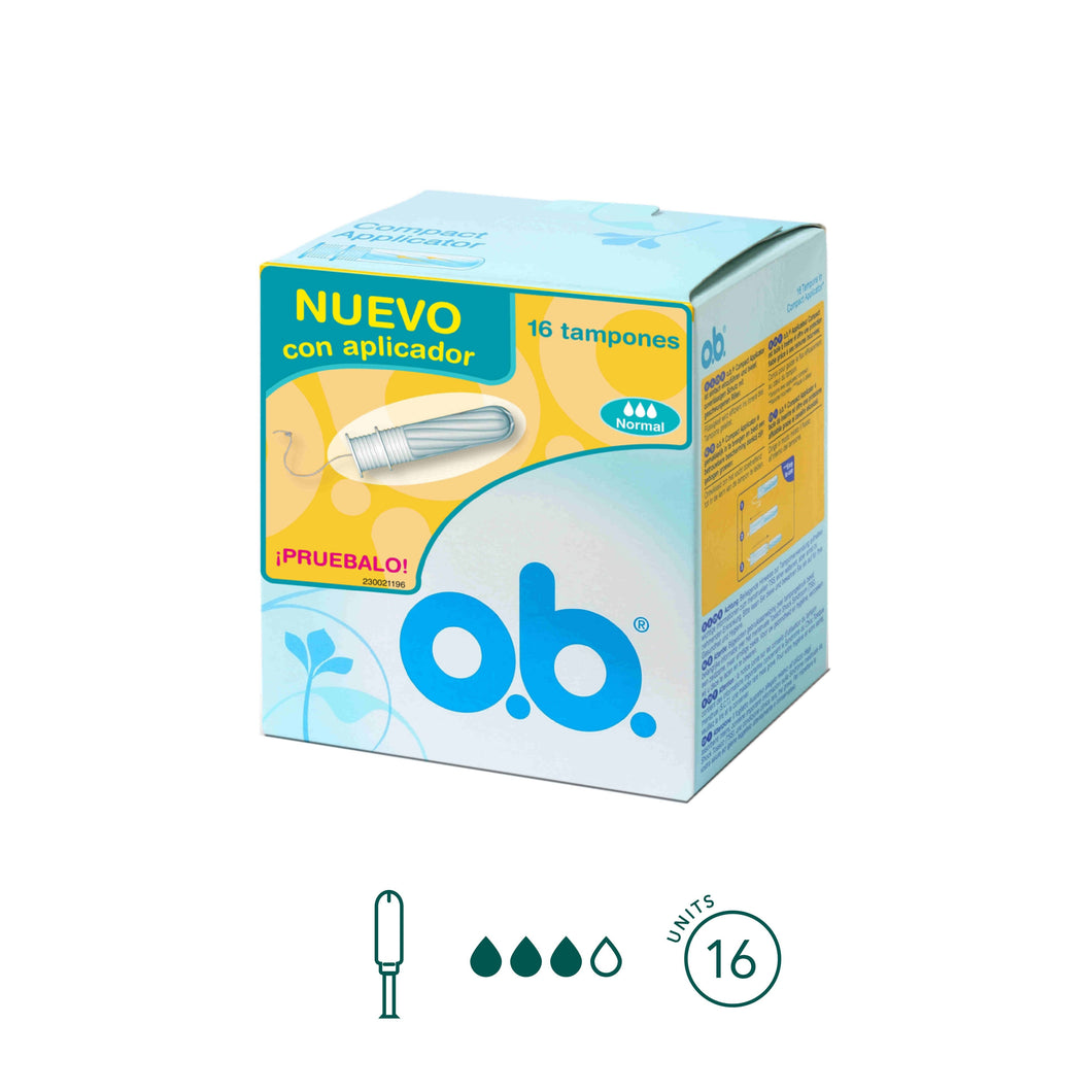 o.b. - Normal Tampons - Aura - Period Subscription Box