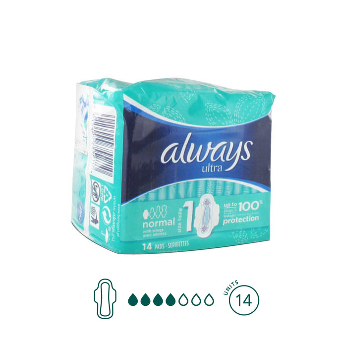 Always - Normal Pads - Aura - Period Subscription Box