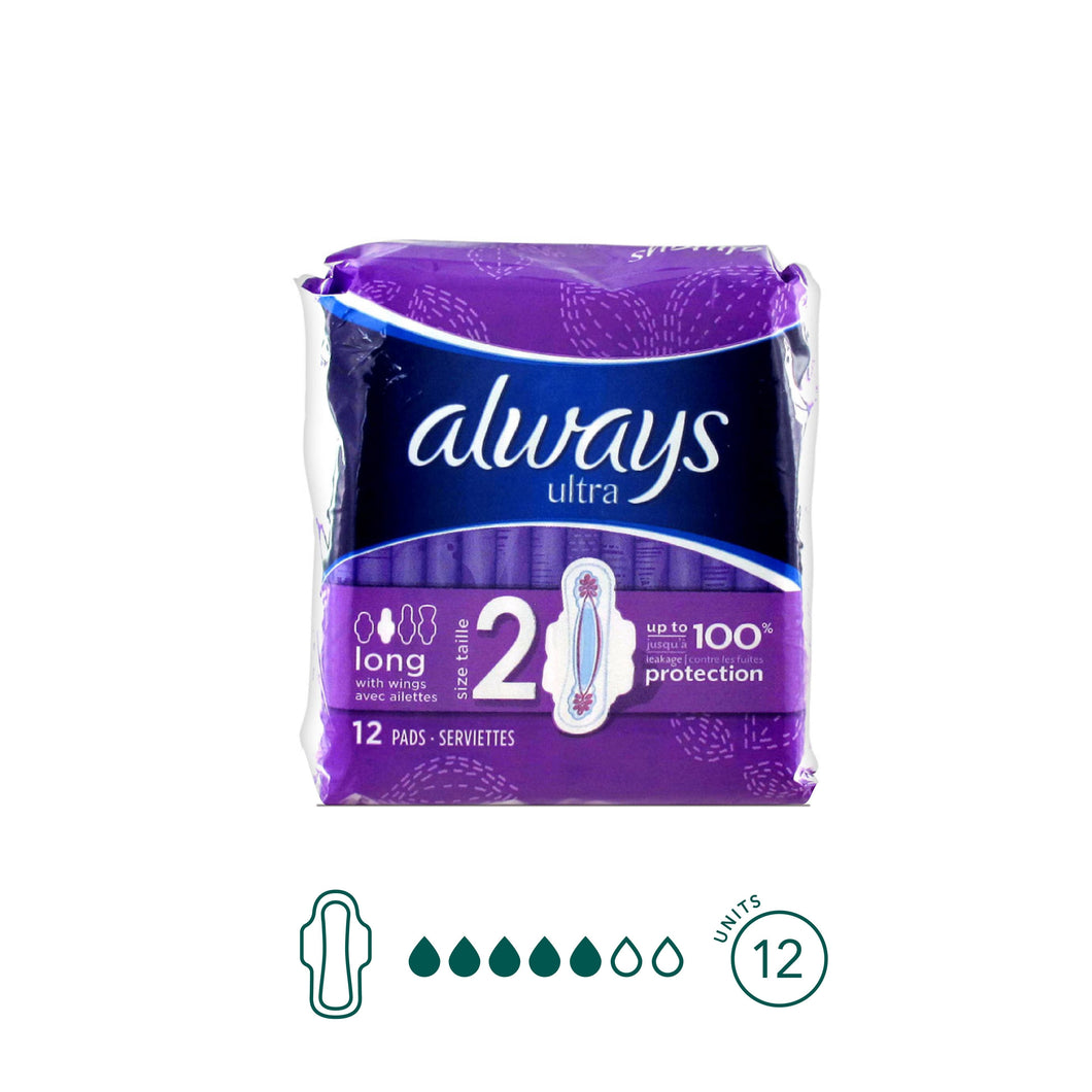 Always - Super Pads - Aura - Period Subscription Box