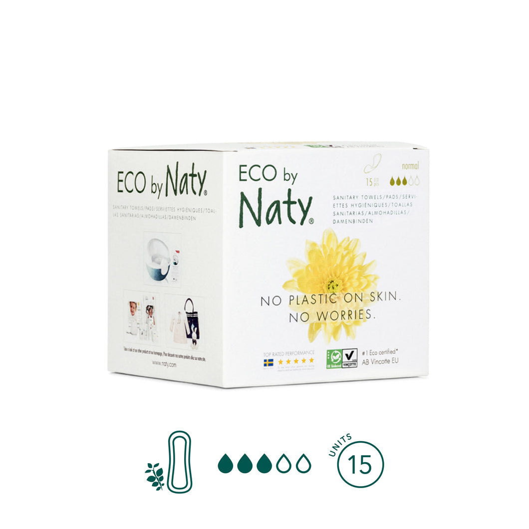 Naty - Normal Pads - No Wings - Aura - Period Subscription Box