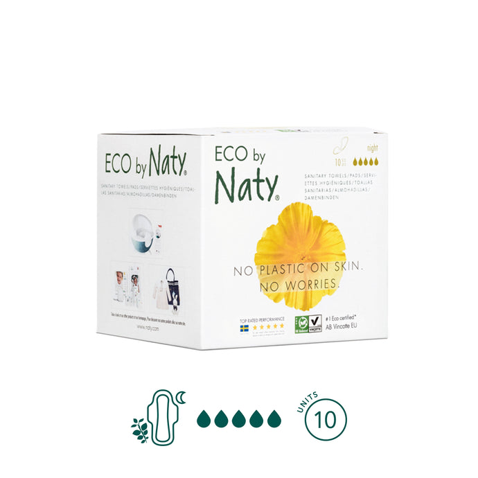 Naty - Night Pads - Aura - Period Subscription Box