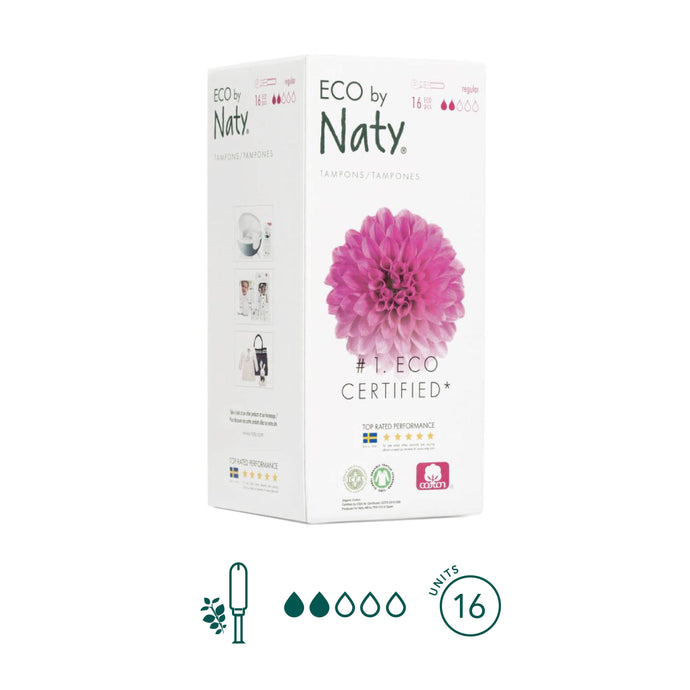 Naty - Regular Tampons - Aura - Period Subscription Box