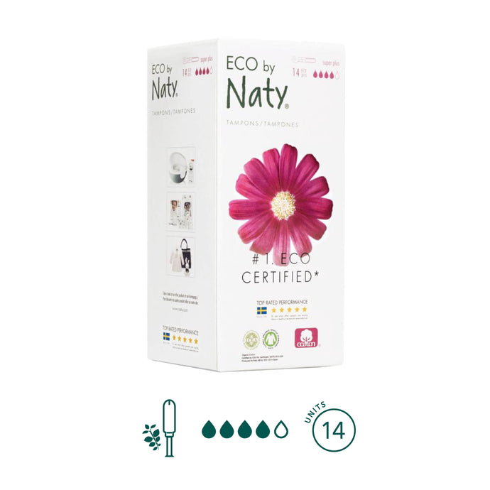 Naty - Super Plus Tampons - Aura - Period Subscription Box