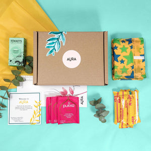 Standard Comfort Medium Box - Aura - Period Subscription Box