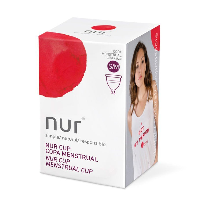 Menstrual Cup - Nur - Size S/M - Aura - Period Subscription Box