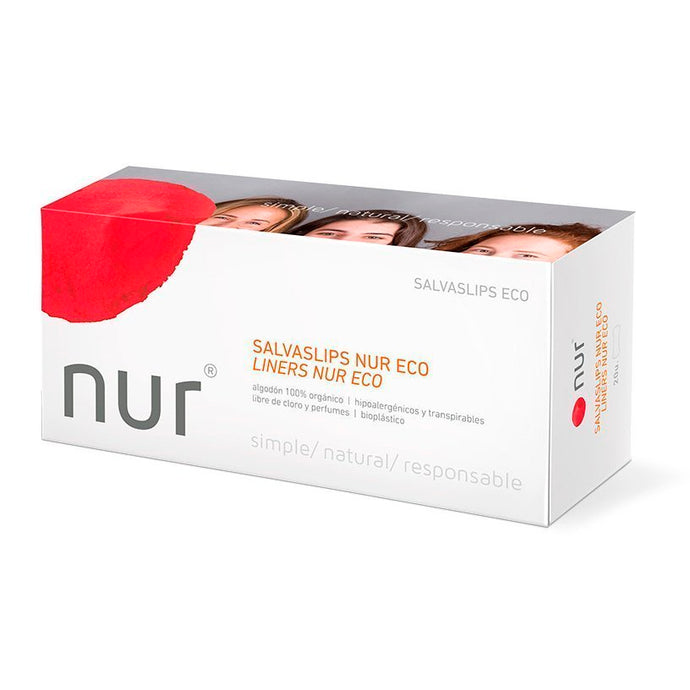 Ecological Pantyliner- Nur - 20u - Aura - Period Subscription Box