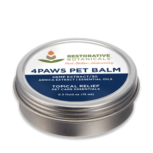 4Paws PET Hemp Extract Topical Relief Balm 0.5oz