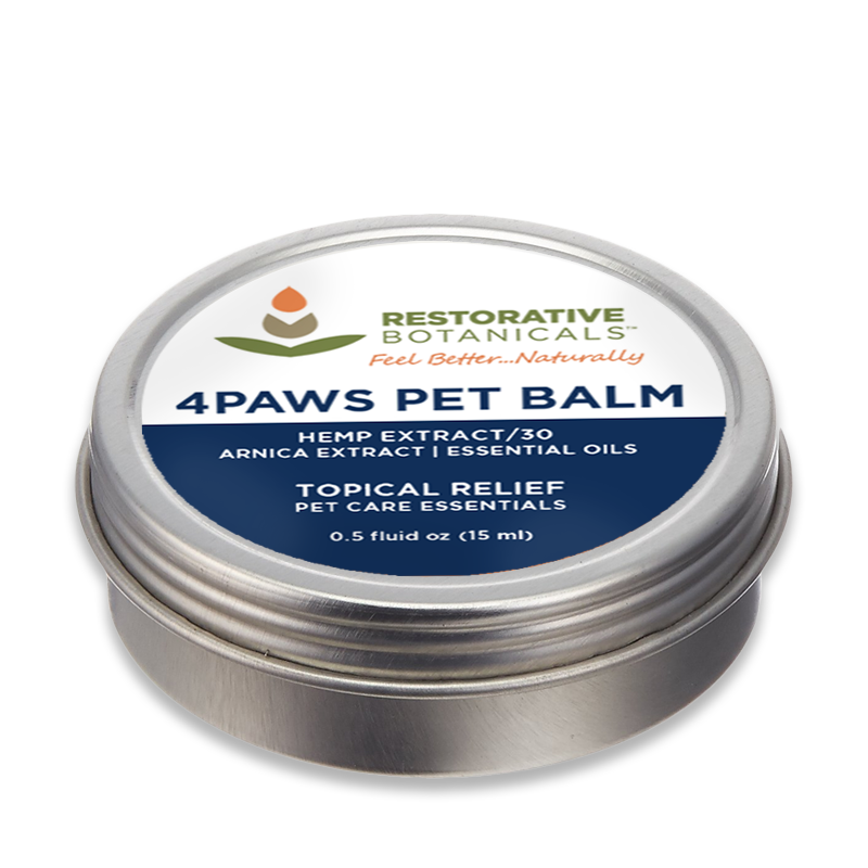 4Paws PET Hemp Extract Topical Relief Balm