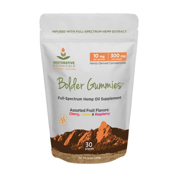 Bolder Gummies™ Hemp Extract Treat Variety Pack - Restorative Botanicals
