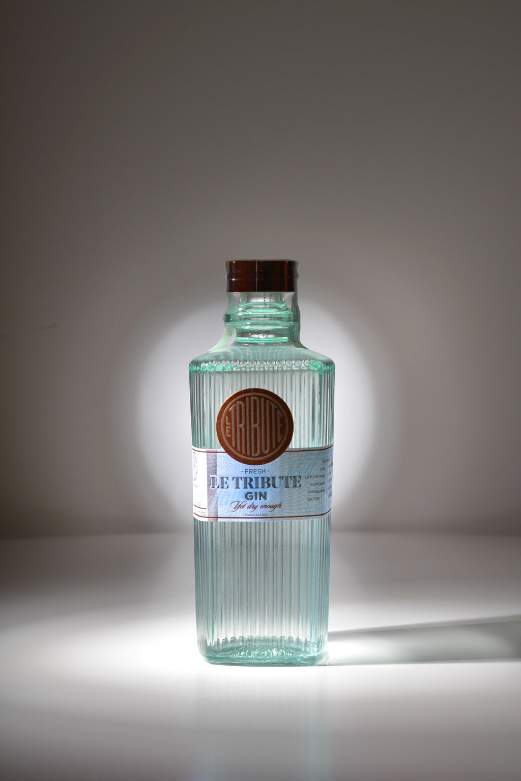Le Tribute Gin - The Royal Bottle