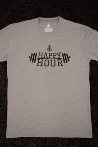 PIM Happy Hour Tee - Heather Grey