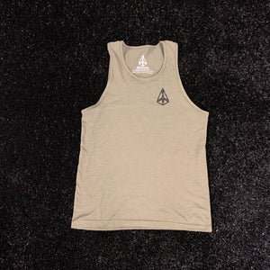 POWER IN MOTION Established 2019 Tank - Military Green/Black