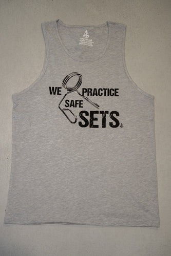 PIM Safe Sets Tank - Heather Grey