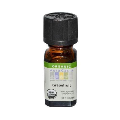 Aura Cacia Organic Grapefruit Essential Oil (1x.25 Oz)