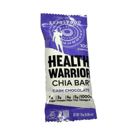Health Warrior Chia Bar Dark Chocolate (15x0.88 OZ)