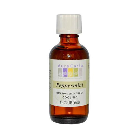 Aura Cacia Peppermnt Essntl Oil (1x2OZ )