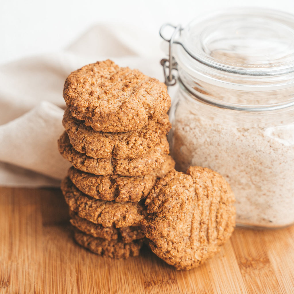 Almond Oat Cookies