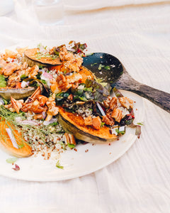 Spiced Pumpkin Quinoa and Maple Nuts