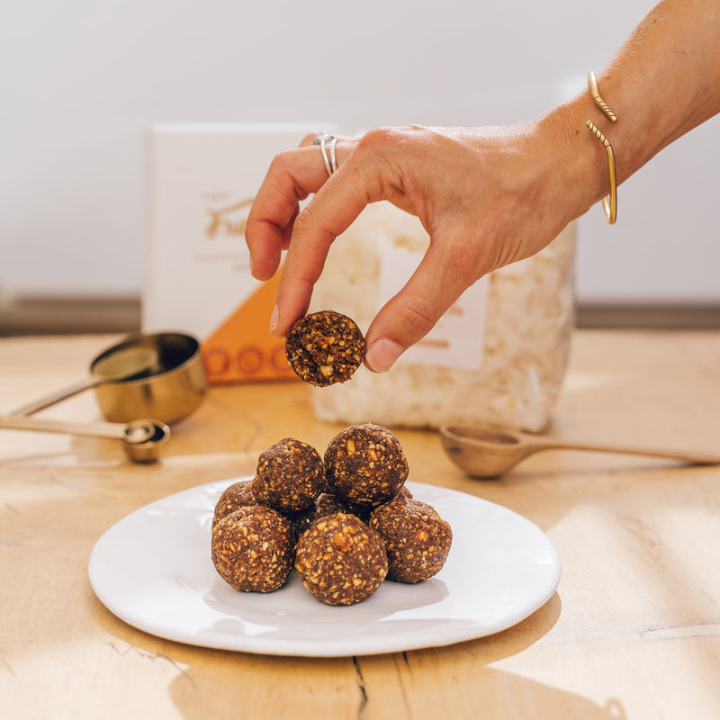 Choc Orange & Date Bliss Balls