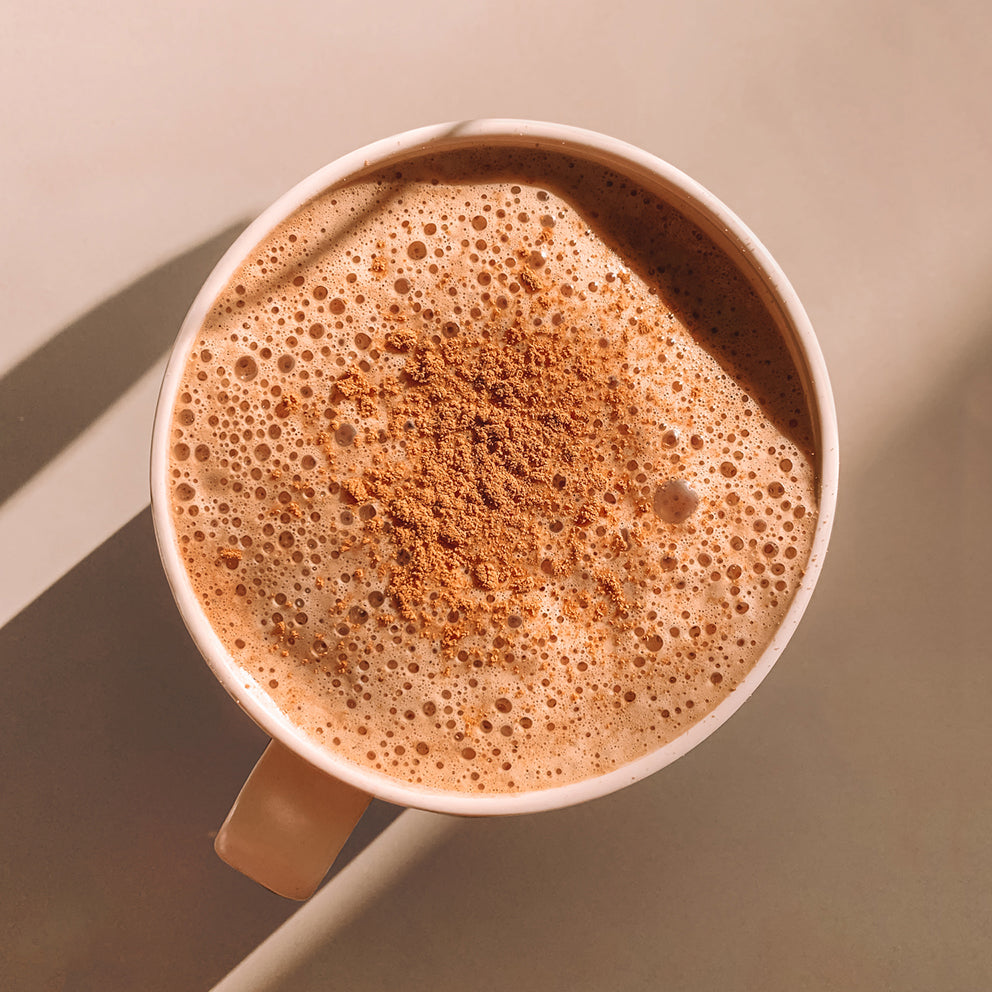 5-min Almond Hot Chocolate