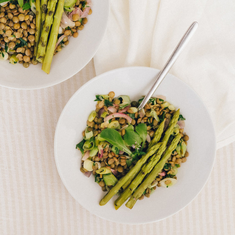 Thrive Lentil Salad with Spring Veg