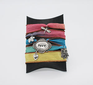 Multi-hued Love Bracelet