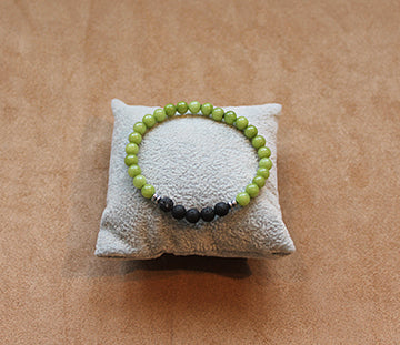 Lava And Olivestone Bracelet