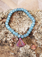 Load image into Gallery viewer, VLO Boheaux Babe Bracelet Blue
