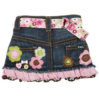 The Molly Denim Dog Skirt