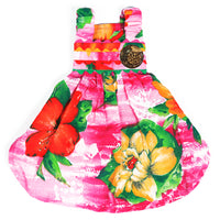Lahaina Designer Collection - Pink Hawaiian Dress