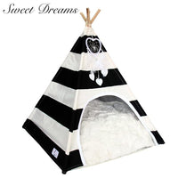 Sweet Dreams Teepee Dog Bed