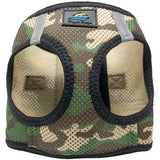 American River Choke Free Dog Harness Camouflage Collection - Green Camo