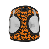 Halloween Dog Harness - Jack-O-Lanterns - Choke Free