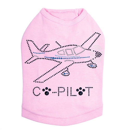 Co-Pilot Airplane - Dog Tank Top