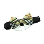 Universal Dog Bow Tie - Tan Plaid