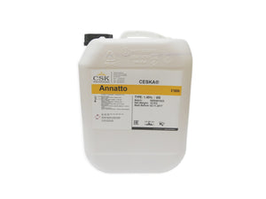 Annatto Cheese Colourant, 2.65 USG tote 10L
